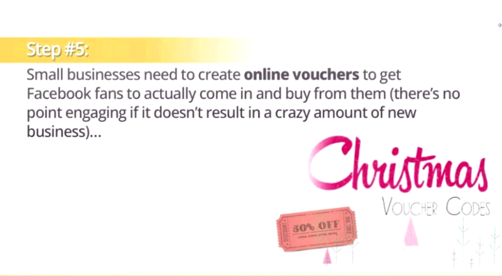 vouchers and discounts