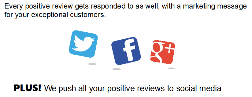 17 positive reviews responded