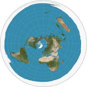Flat Earth Image
