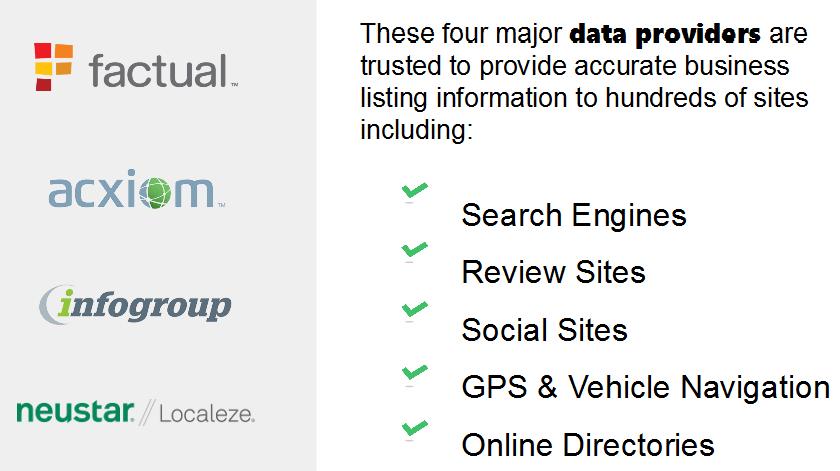 11 data providers